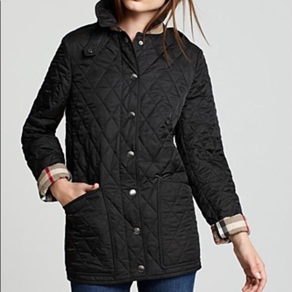 499d3568331c Burberry Jackets & Blazers - Burberry Quilted Ladies Jacket